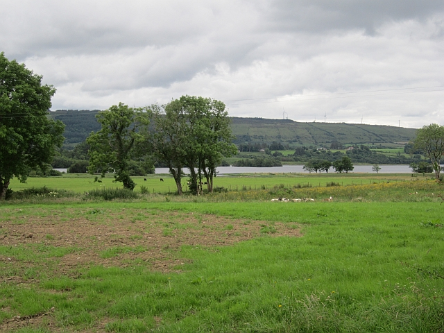 Farmland by Lower Lough Erne