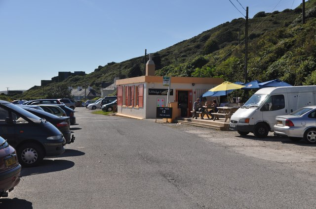 Bovisand : Coastal Car Park & Shop