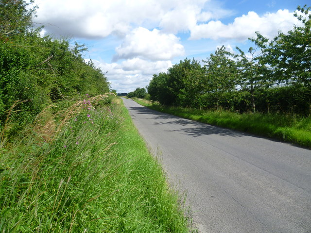 North Witham Road leaving South Witham