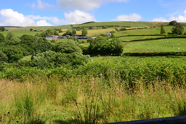 View towards Hafof Fraith farm