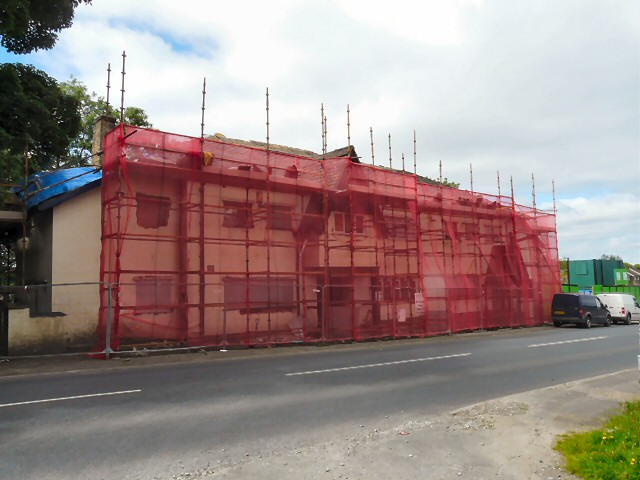 Demolition of the New Inn
