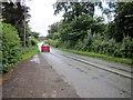 SJ4261 : The B5130 near Aldford by Jeff Buck