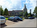 TQ4823 : St Margaret the Queen church, Buxted by PAUL FARMER