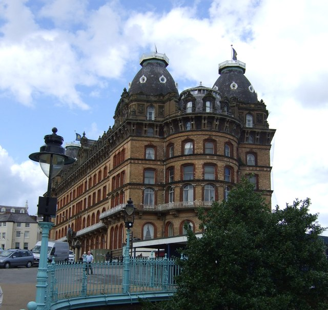 The Grand Hotel from Cliff Bridge, Scarborough