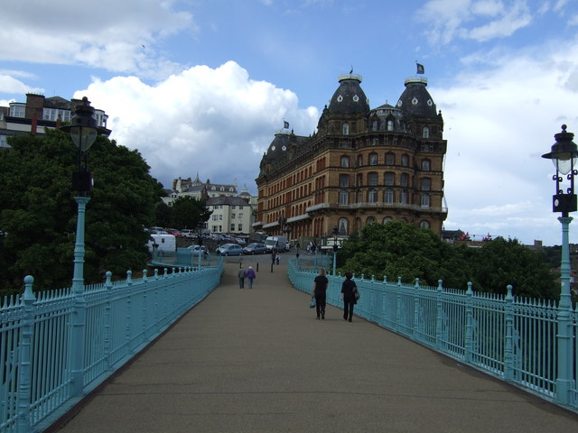 On Cliff Bridge, Scarborough