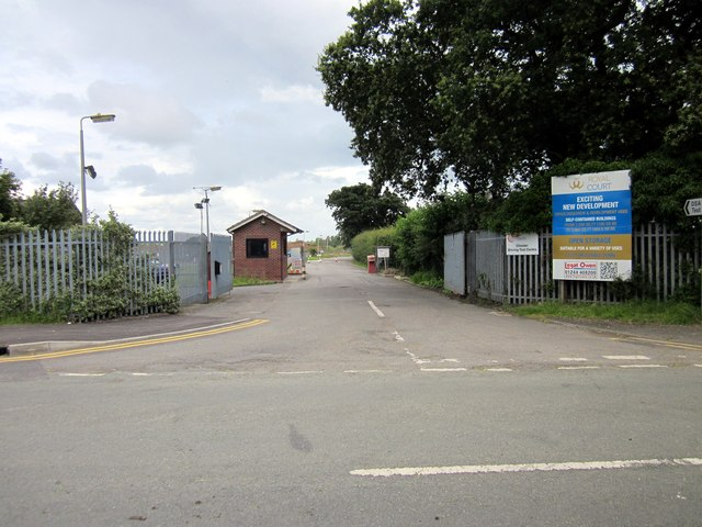 Entrance to Chester Driving Test Centre