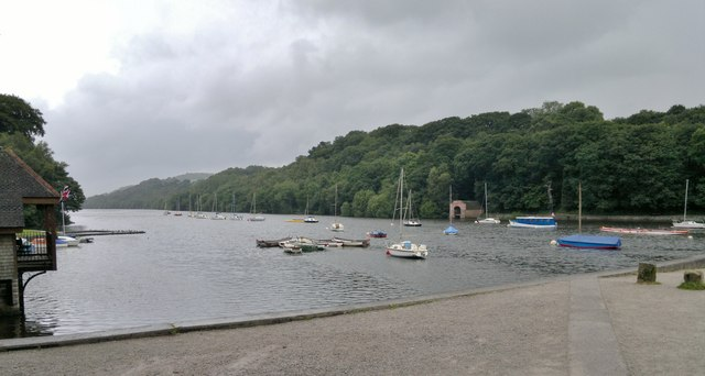 Rudyard Reservoir from the dam and visitor centre