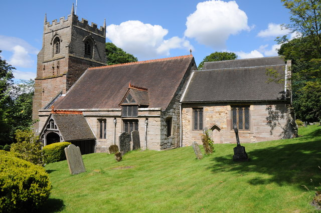Beoley church