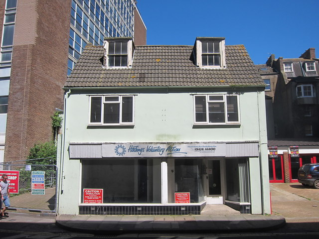 Vacant offices, Priory Street