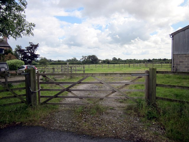 Farm Gate on Greenfields Lane