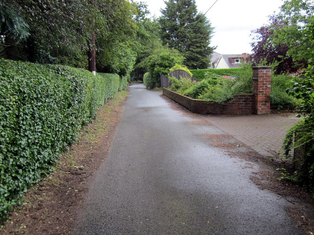 Greenfields Lane, Rowton