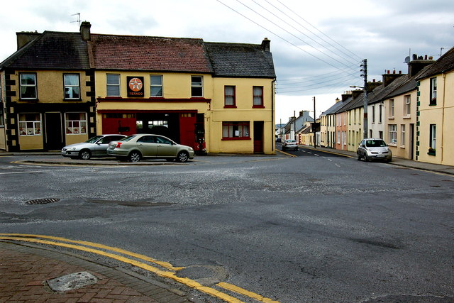 Milltown Malbay - Flag Road (N67) - Texaco Gas Station/Garage