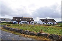 M2808 : Cottages, Bealaclugga, Co. Clare by P L Chadwick