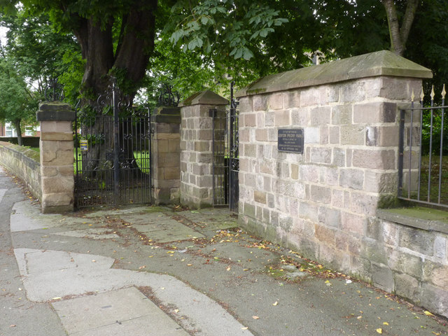 Gates at Lenton Priory