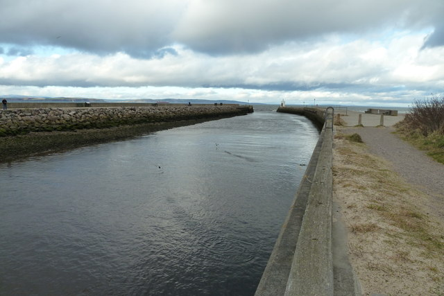 River Nairn Estuary from the east side