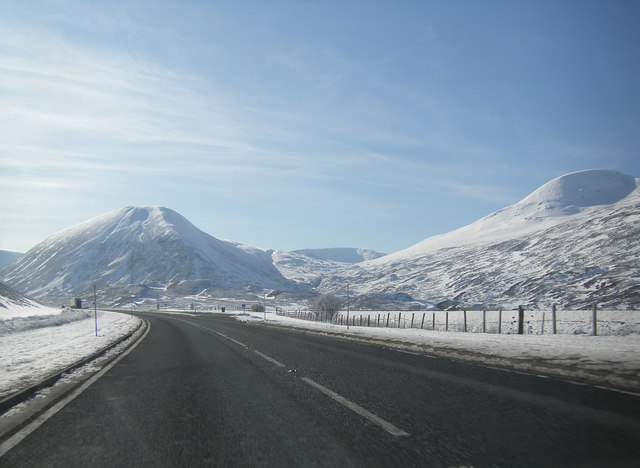 A9 southbound, south of Drumochter Lodge