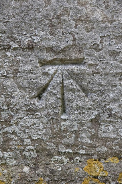 Benchmark on St Mary the Viirgin