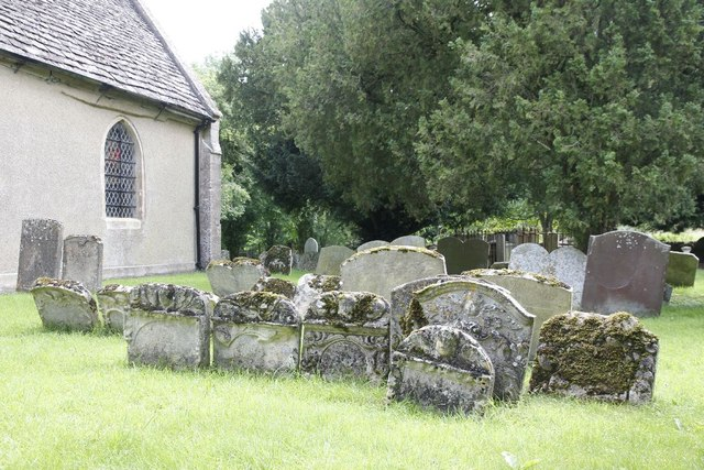 The older headstones