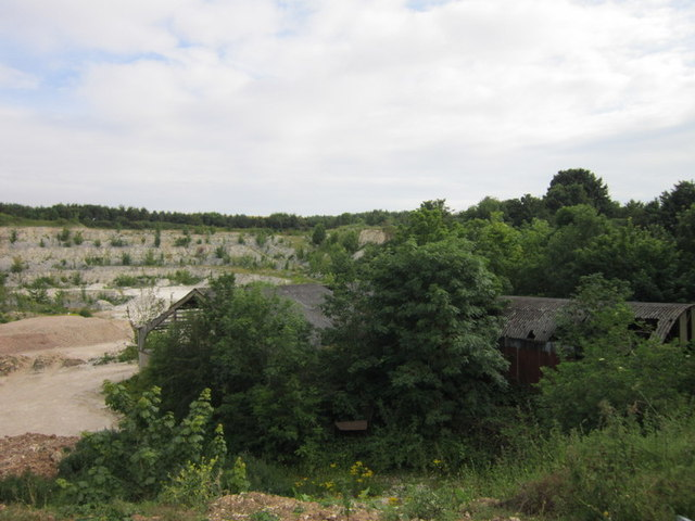 Disused Buildings at Nafferton Quarry