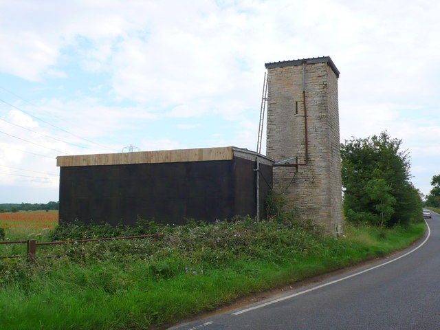 Former Water Tank on White Way
