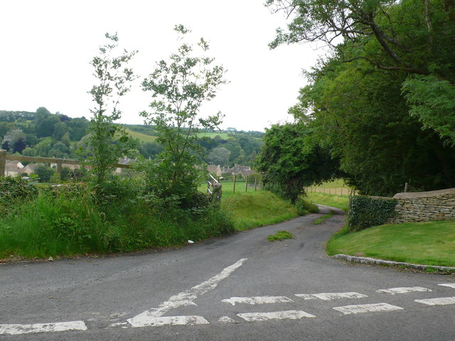Minor Road to Baunton