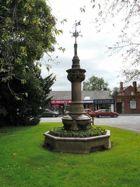 Memorial Fountain, Queens Gardens