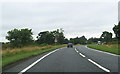 NY3965 : A7 north approaching Sandysike by John Firth