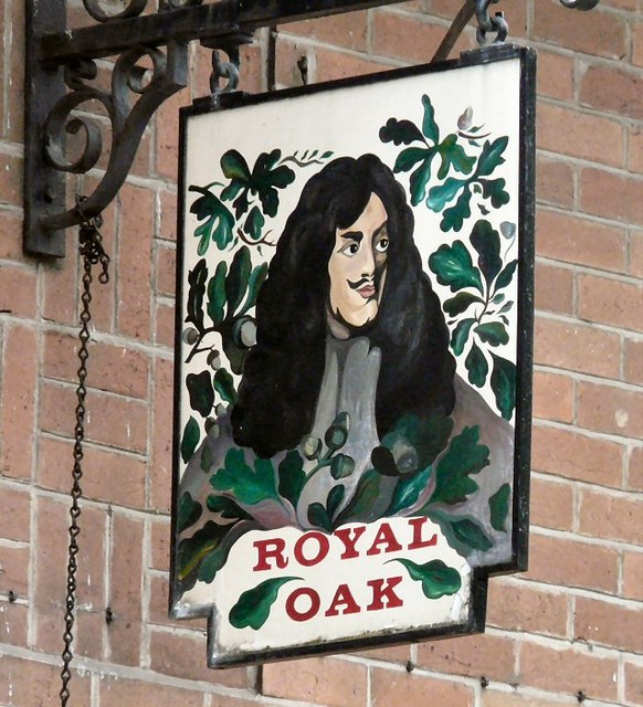 Sign of the Royal Oak