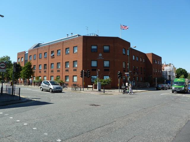 Kilburn Police Station, Salusbury Road, Kilburn