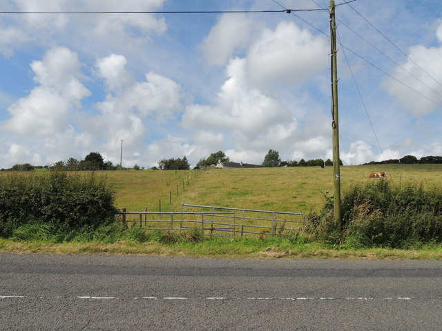 Farmland near Whiteleys
