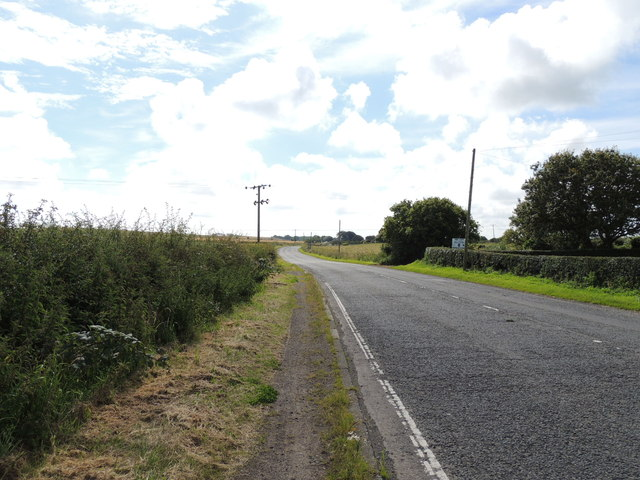 Road to Stoneykirk near Whiteleys