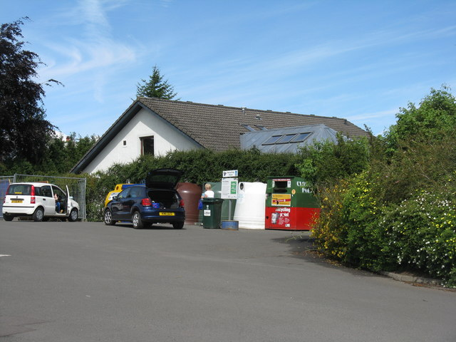 Scone recycling point