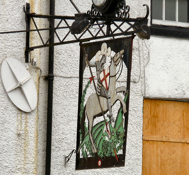 Sign of George & Dragon