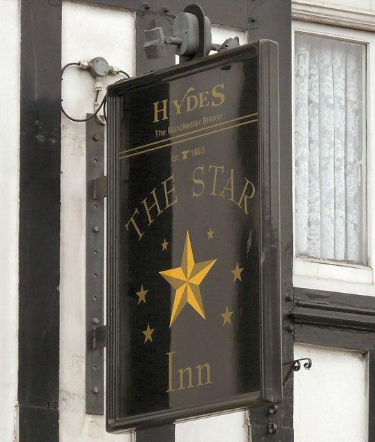 Sign of The Star Inn