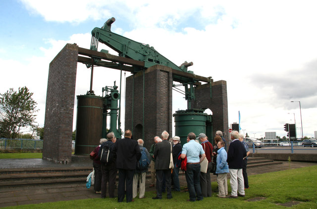 Newcomen Society visit to the Grazebrook engine