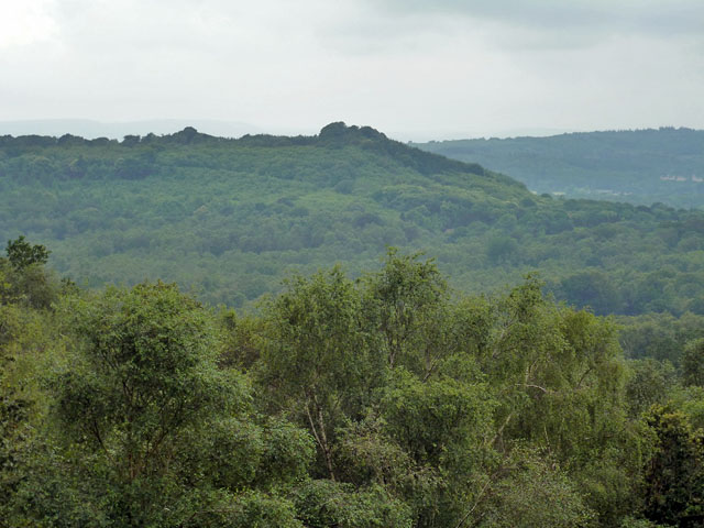 View towards Dunner Hill