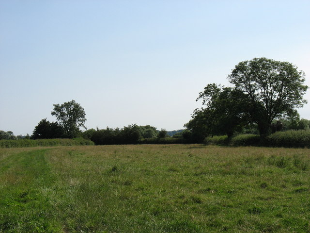 Fields north of Oldbury Naite