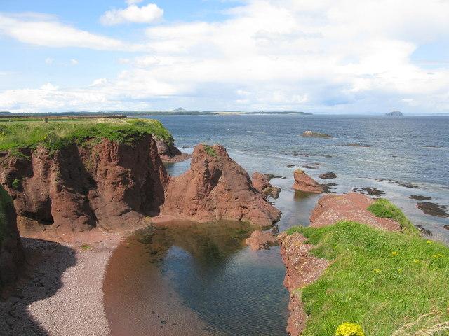 Cliffs at Dunbar