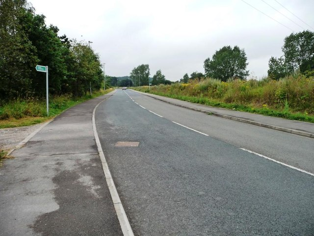 New road and public bridleway, east of B6422