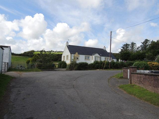 Southern Upland Way at Whiteleys