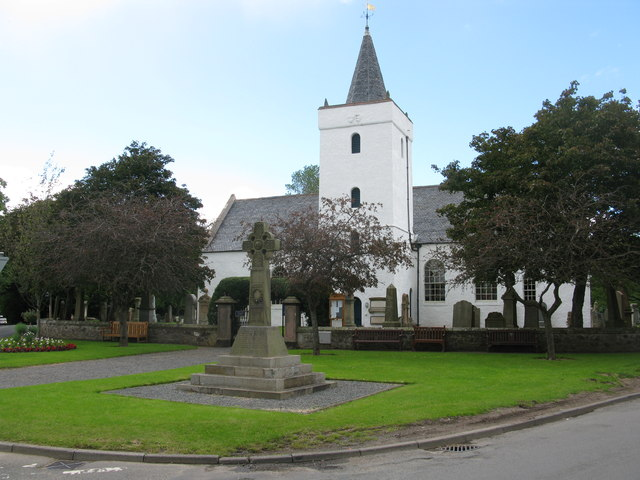 Yester Parish Church and War Memorial, Gifford