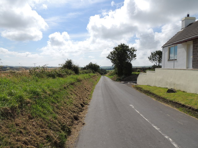 Southern Upland Way near Dunbae