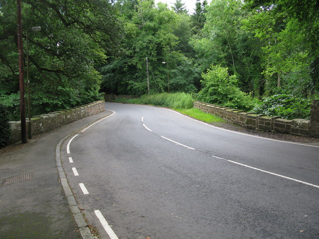 Road Bridge over Gifford Water