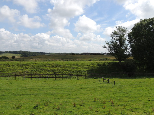 Farmland near Spout Wells