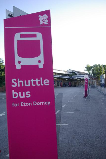 Shuttle bus for Eton Dorney