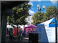 SK5236 : Craft fair in Beeston Square by David Lally