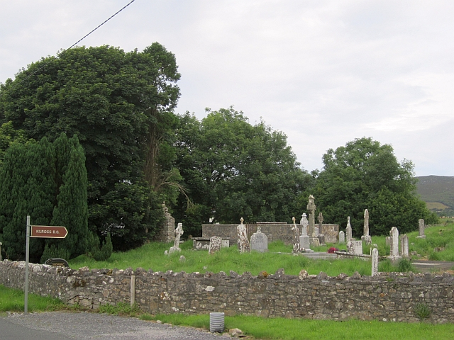 Kilross burial ground