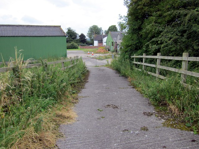 Farm Entrance on the Millennium Greenway
