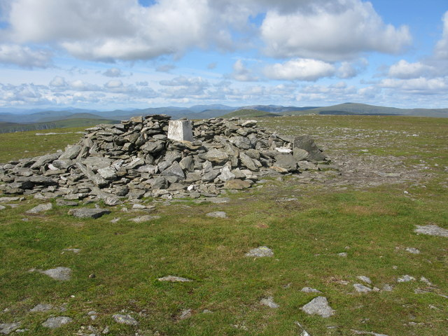 Driesh Trig Point and Cairn