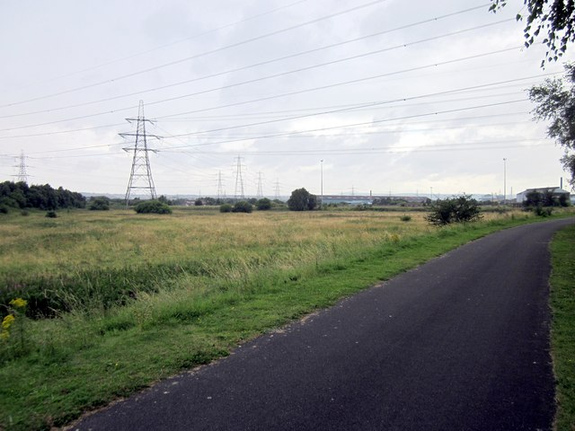 Footpath off the Millennium Greenway